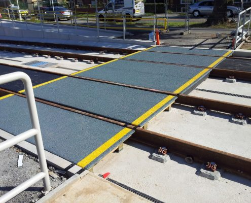 Benchill South track crossing - MIF ACME Panel