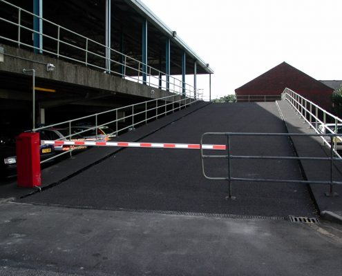 Police Station Car Park Ramp, Guildford - MIF Grip NT