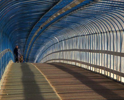 Carter Cycle Bridge - Cambridge Station- MIF ACME Panel