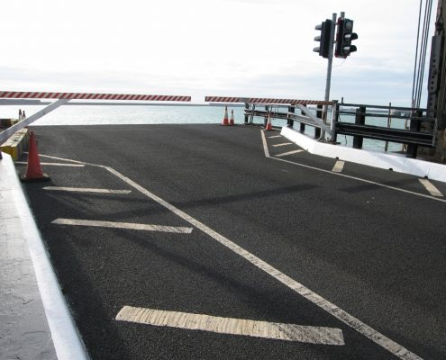 No.1 Berth Vehicle Ramp Dover - MIF Grip NT