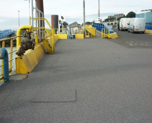 No.1 Berth Vehicle Ramp Ramsgate - MIF Grip NT