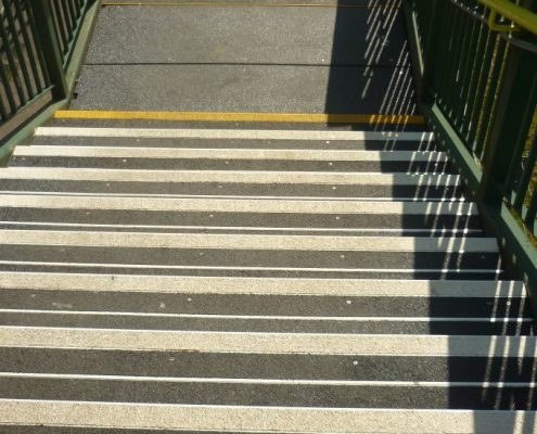 Porth Station Footbridge - Pro Treads