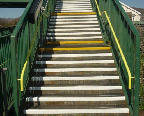 Porth Station Stairway - Pro Tread