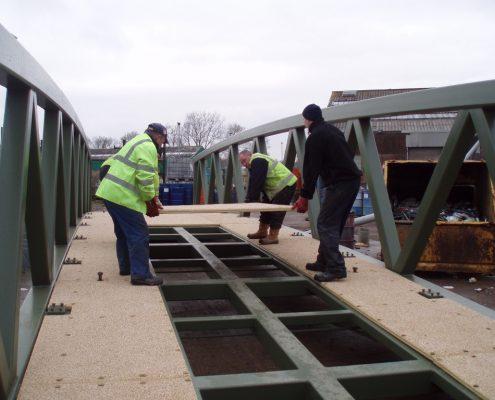 Trentside Footbridge - MIF ACME Panels