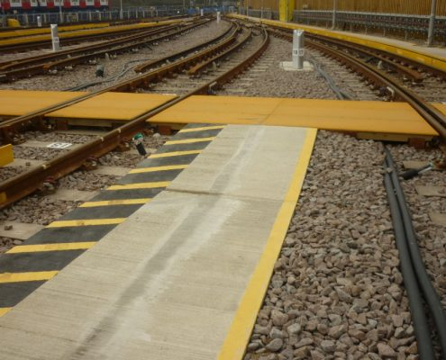 Upminster Depot Track Crossing - MIF ACME Panel