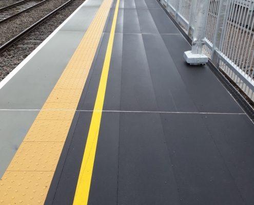 MIF GRIP FRP Railway Platform